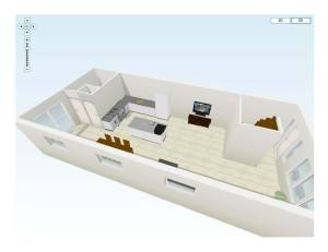 Ground floor in 3D